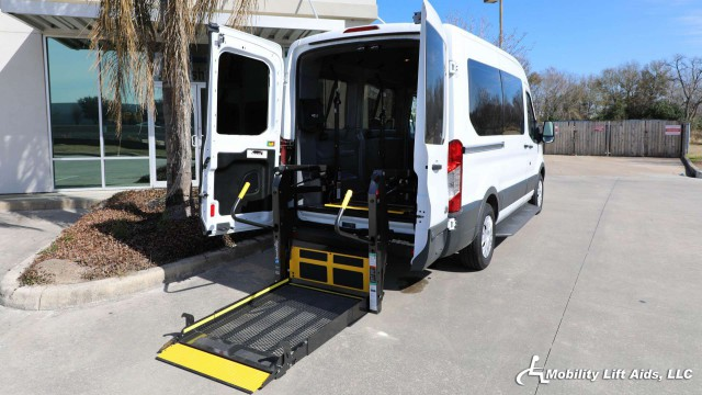 2017 Ford Transit Van Non Branded Wheelchair Lift & Tiedowns Wheelchair Van For Sale