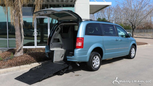 2010 Chrysler Town and Country AutoAbility Wheelchair Van Conversions Rear Entry Chrysler Wheelchair Van For Sale